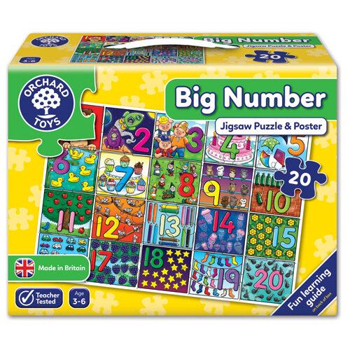 Big Number Puzzle