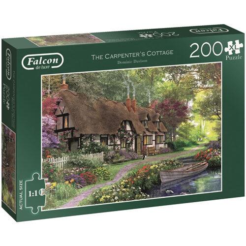 Carpenters Cottage - Falcon Deluxe Puzzle