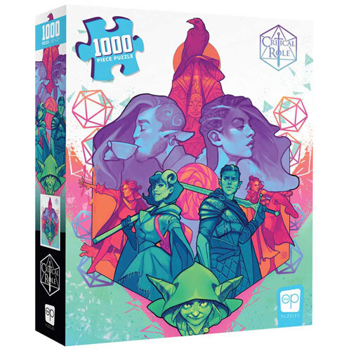 Critical Role: Mighty Nein Puzzle (1000 pieces)
