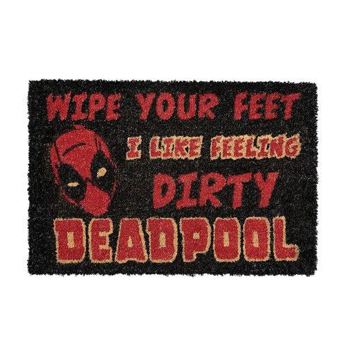Deadpool Dirty Door Mat
