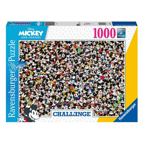 Disney Challenge Mickey Mouse Jigsaw Puzzle (1000 pieces)