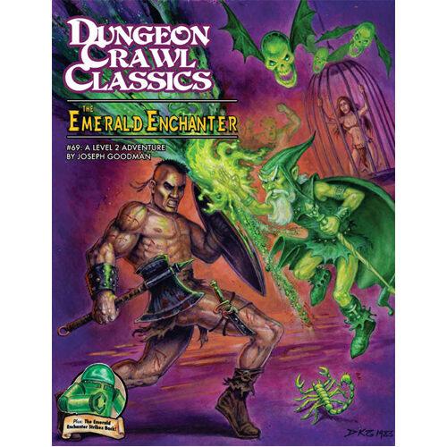 Dungeon Crawl Classics RPG: 69 - The Emerald Enchanter