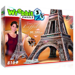 Eiffel Tower 3D Puzzle (816Pc)