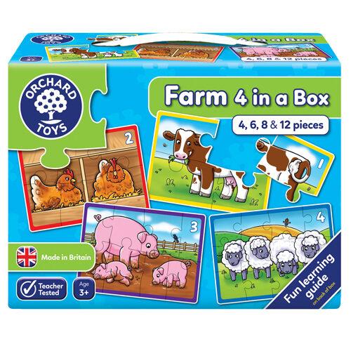 Farm 4 In A Box Puzzles