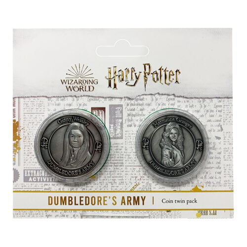 Harry Potter: Dumbledore's Army Twin Coin - Hermione Granger and Ginny Weasley