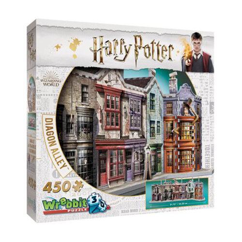Hogwarts: Diagon Alley 3D Puzzle (450Pc)