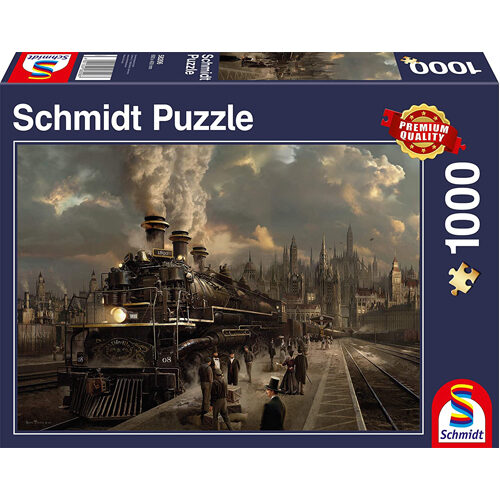 Locomotive Jigsaw (1000Pc)