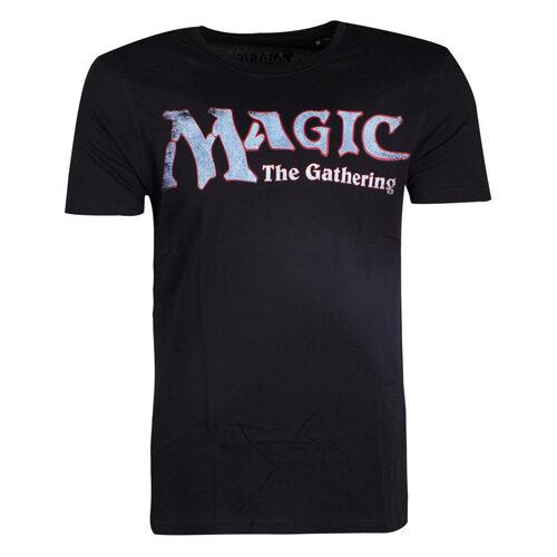 Magic: The Gathering Black Logo T-Shirt Large