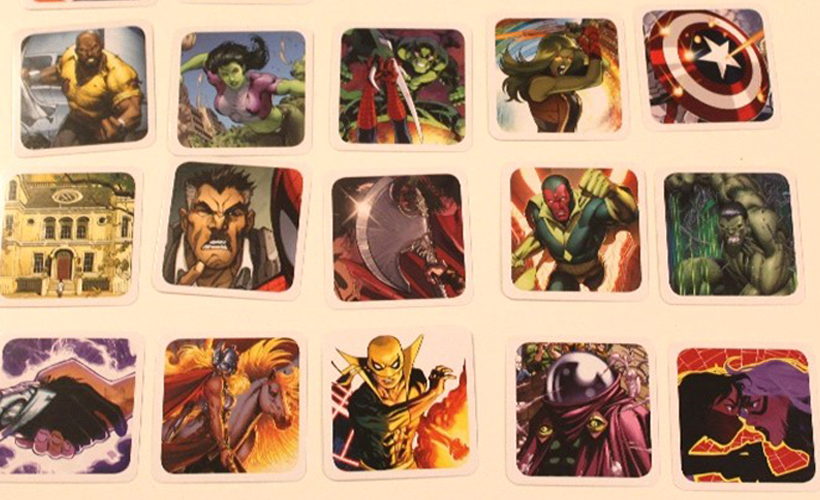 Marvel Codenames Cards