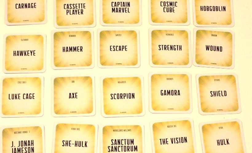 Marvel Codenames Words