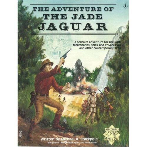 Mercenaries, Spies & Private Eyes RPG: Adventure Of The Jade Jaguar Solitaire Adventure