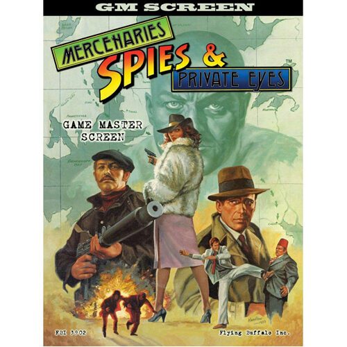 Mercenaries, Spies & Private Eyes RPG: GM Screen