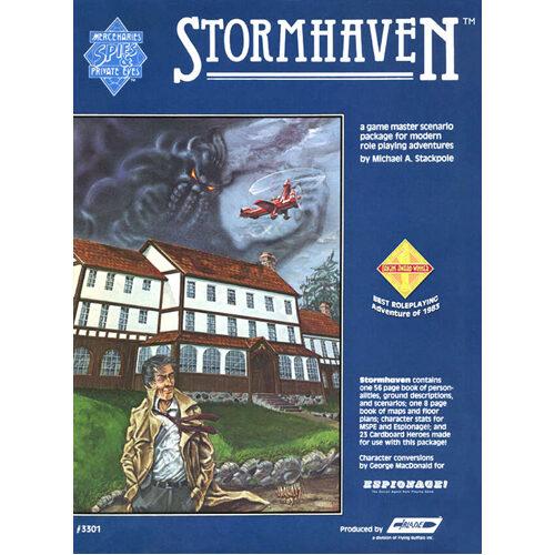 Mercenaries, Spies & Private Eyes RPG: Stormhaven GM Adventure Pack