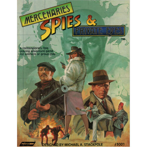 Mercenaries, Spies & Private Eyes RPG: The Combined Edition