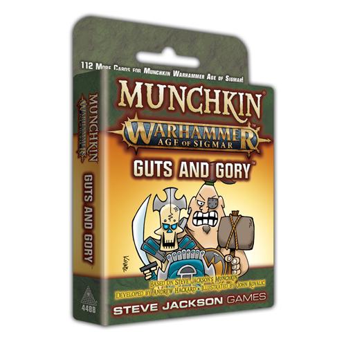 Munchkin: Warhammer Age of Sigmar - Guts and Gory