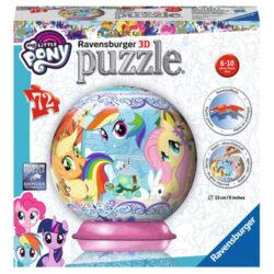 My Little Pony 3D Puzzle, 72pc