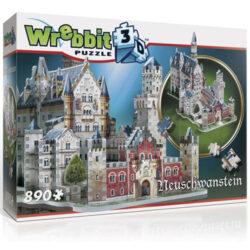 Neuschwanstein Castle 3D Puzzle (890Pc)