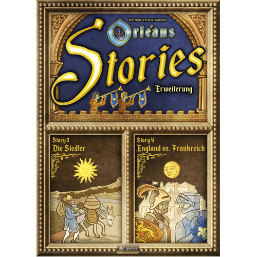 Orleans Stories: Story 3 and 4 Expansion