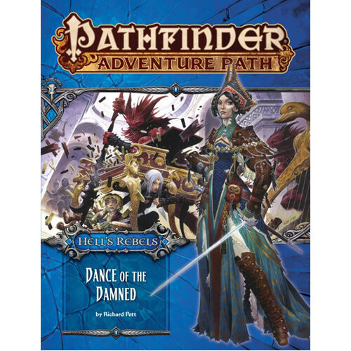 Pathfinder Adventure Path #99: Dance of the Damned (Hell Rebels 3 of 6)