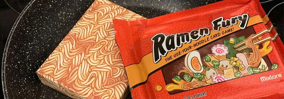 Ramen Fury Packaging