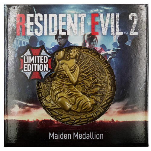 Resident Evil Maiden Plaque
