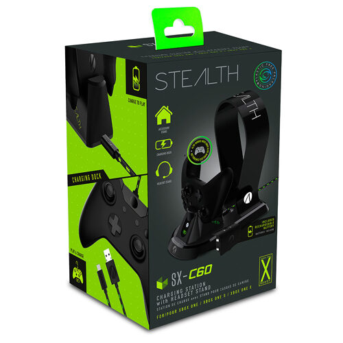 STEALTH SX-C60 Charging Station with Headset Stand (Black) - Xbox One
