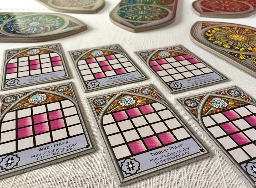 Sagrada Expansion private objectives