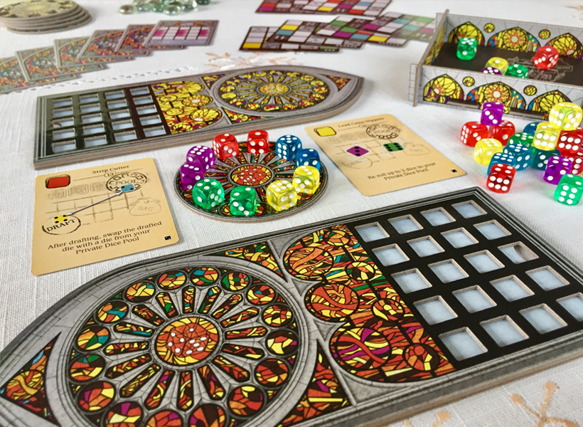 Sagrada expansion all components shot