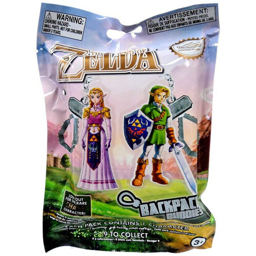 The Legend of Zelda Back Buddies Blind Bag