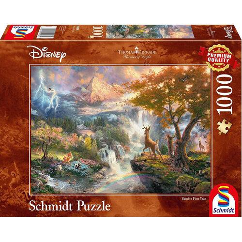 Thomas Kinkade: Disney - Bambi (1000Pc)