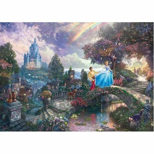Thomas Kinkade: Disney - Cinderella (1000Pc)