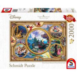 Thomas Kinkade: Disney - Dreams Collection (2000Pc)