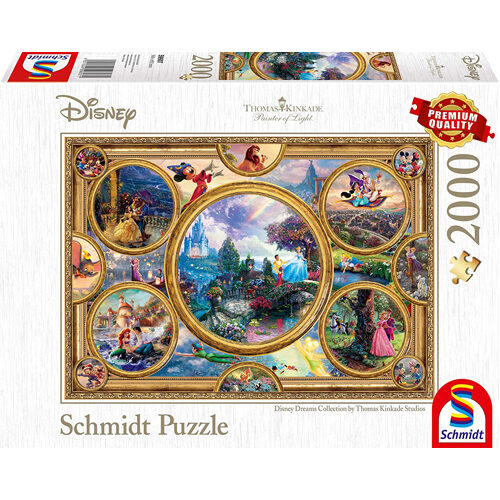Thomas Kinkade: Disney - Dreams Collection (2000Pc)