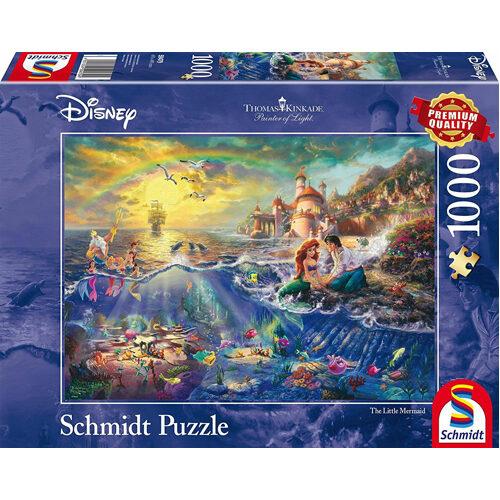 Thomas Kinkade: Disney - The Little Mermaid (1000Pc)