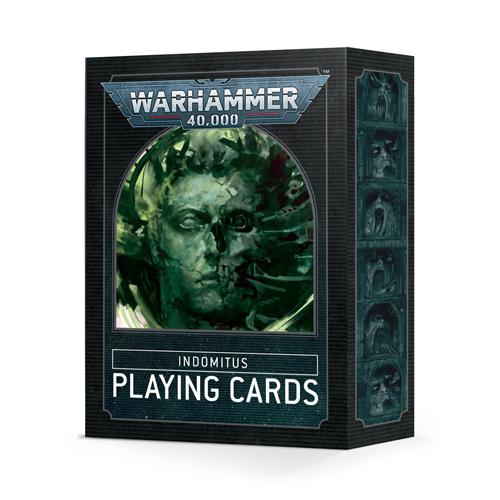 Warhammer 40K: Indomitus Playing Cards