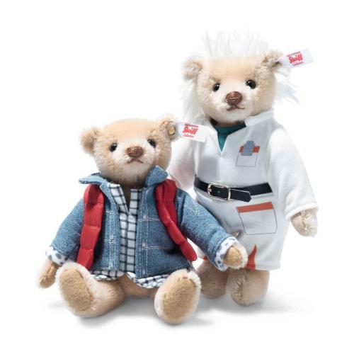 steiff back tot he future teddy 2 set