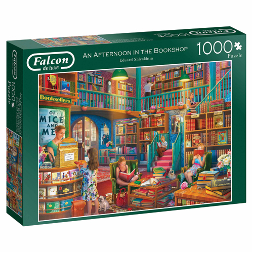 An Afternoon in the Bookshop 1000 piece puzzle