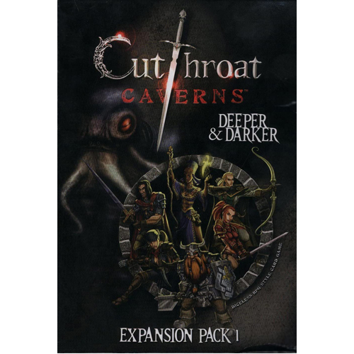 Cutthroat Caverns Card Game: Deeper and Darker Expansion