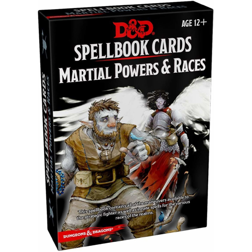 D&D: Martial Powers And Races Spell Deck (Revised)