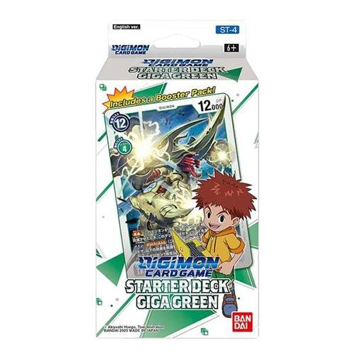 Digimon Card Game: Starter Deck - Giga Green (ST-4)