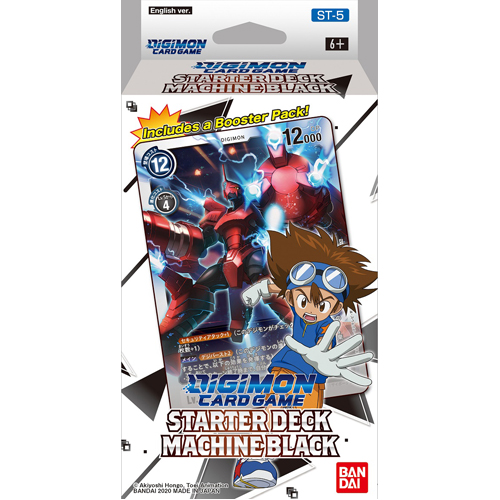 Digimon Card Game: Starter Deck - Machine Black (ST-5)