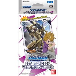 Digimon Card Game: Starter Deck - Venomous Violet (ST-6)