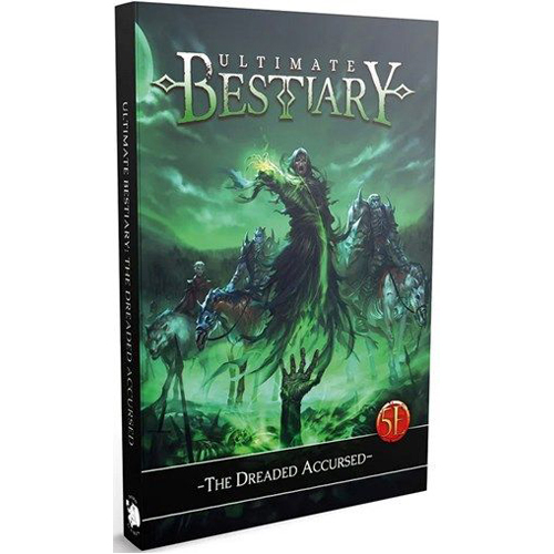 Dungeons And Dragons RPG: Ultimate Bestiary: The Dreaded Accursed