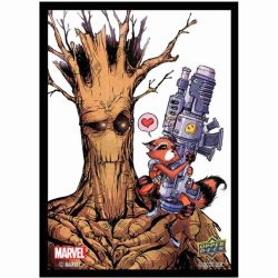 Marvel Card Sleeves: Rocket and Groot (65)