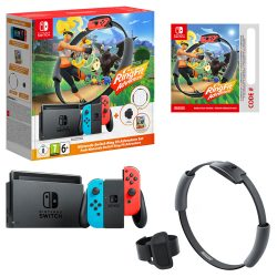 Nintendo Switch Console - Ring Fit Adventure Edition