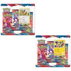 Pokemon TCG: Sword & Shield  Battle Styles 3-Pack Booster Blister - 2 Set
