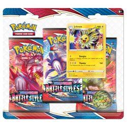 Pokemon TCG: Sword & Shield  Battle Styles 3-Pack Booster Blister - Jolteon
