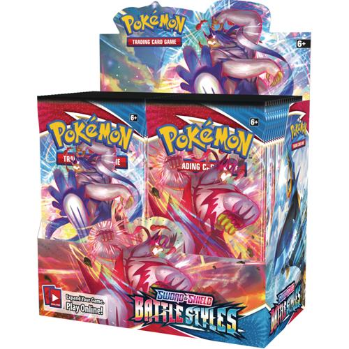 Pokemon TCG: Sword & Shield 5 Battle Styles Booster Box