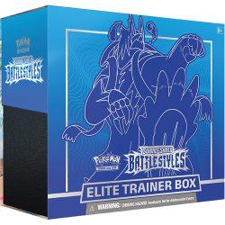 Pokemon TCG: Sword & Shield  Battle Styles Elite Trainer Box - Blue