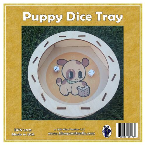 Puppy Dice Tray